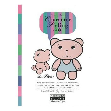 Character Styling Vol. 2 The Bear incl. CD-Rom Miglior Prezzo