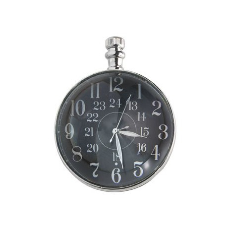 THE EYE OF TIME CLOCK CM. 5, NICKEL Shop Online