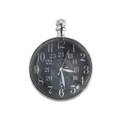 THE EYE OF TIME CLOCK CM. 5, NICKEL Shop Online