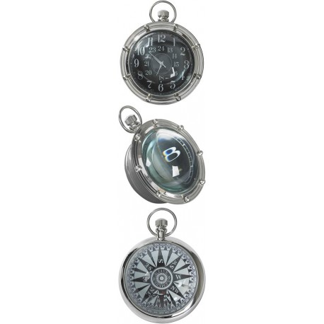 PORTHOLE EYE OF TIME, NICKEL Shop Online
