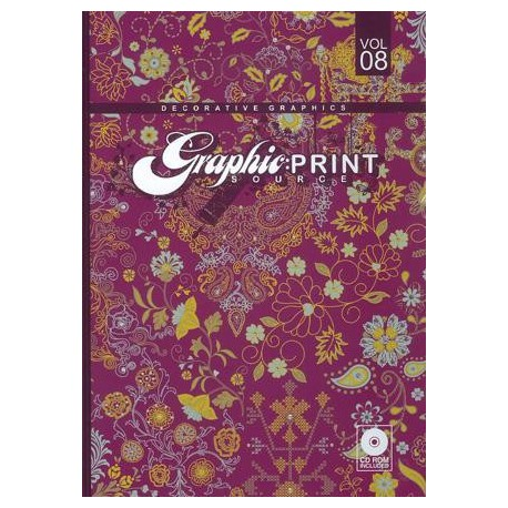 Graphic Print Source - Decorative Graphics Vol. 8 Shop Online