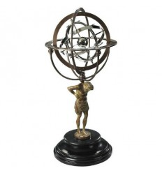 18TH C. ATLAS ARMILLARY Shop Online