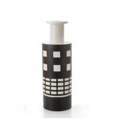 BLACK AND WHITE 503 SOTTSASS VASE Shop Online
