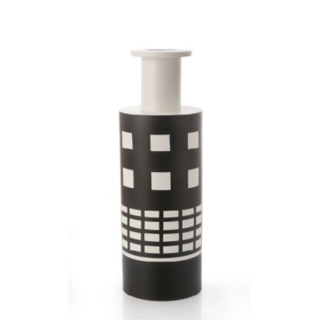 BLACK AND WHITE 500 SOTTSASS VASE