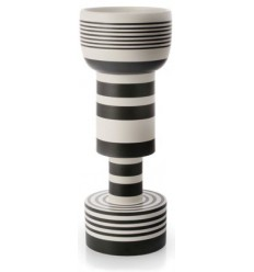 BLACK AND WHITE 502 SOTTSASS VASE Shop Online
