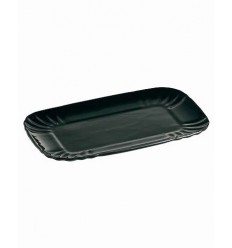 BIG TRAY IN BLACK PORCELAIN SELETTI Shop Online