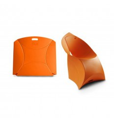 FLUX CHAIR - BRIGHT ORANGE Shop Online