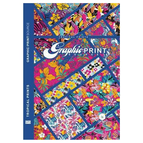 Graphic Print Source - Tropical Prints incl. CD-ROM Miglior
