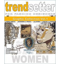 Trendsetter - Women Graphic Collection vol. 1 incl. DVD Shop