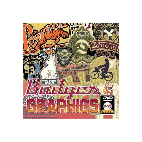 Badges & Graphics incl. CD-ROM