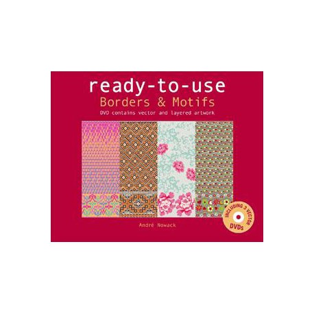 Ready To Use - Borders & Motifs incluso. DVDs