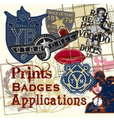 Prints Badges & Applications incl. CD-Rom Miglior Prezzo