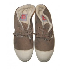 BENSIMON Tennis Nils Fourrées - Beige, Woman Shop Online