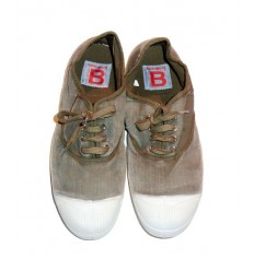 BENSIMON Tennis Vintage - Man/Woman, Dark Beige Shop Online