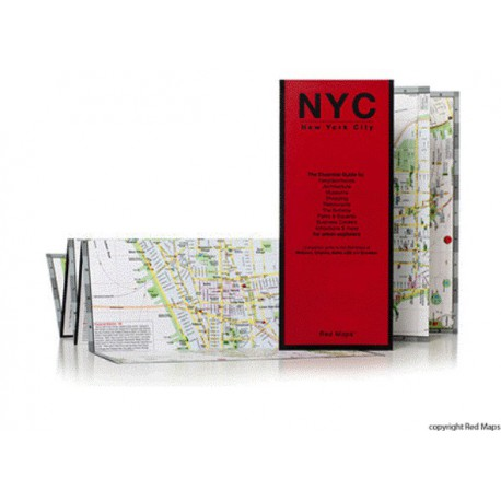 RED MAP NEW YORK CITY
