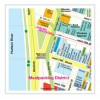 MAPPA CHELSEA / MEATPACKING / WEST VILLAGE RED MAP Miglior