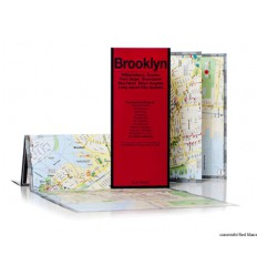 MAPPA BROOKLYN / WILLIAMSBURG RED MAP Miglior Prezzo