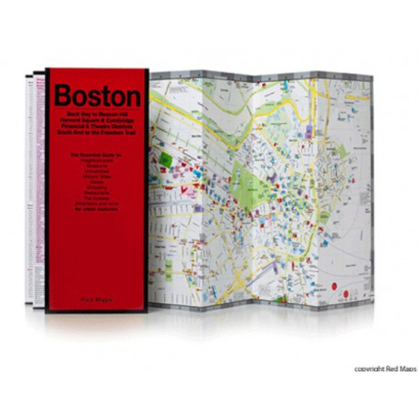 MAPPA BOSTON RED MAP