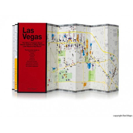 MAPPA LAS VEGAS RED MAP