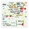 MAPPA LOS ANGELES RED MAP Miglior Prezzo