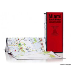 MAPPA MIAMI / SOUTH BEACH RED MAP