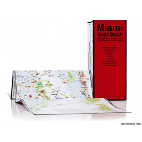 RED MAP MIAMI / SOUTH BEACH Shop Online