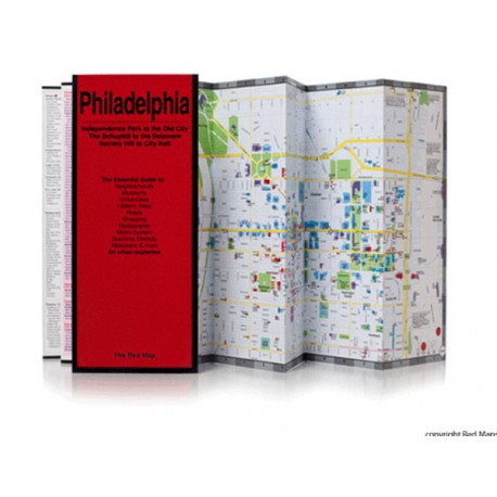 MAPPA PHILADELPHIA RED MAP