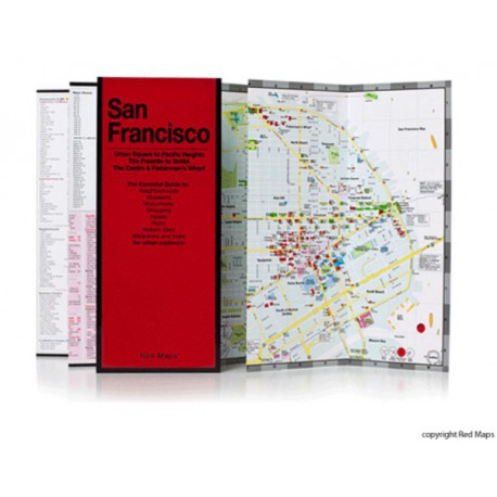 MAPPA SAN FRANCISCO RED MAP