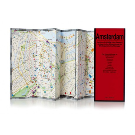 MAPPA AMSTERDAM RED MAP