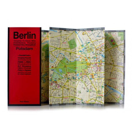 MAPPA BERLINO / POTSDAM RED MAP