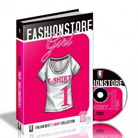 Fashionstore Girl: T-Shirt Vol. 1 Miglior Prezzo