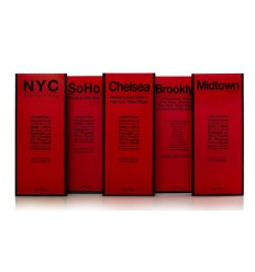 RED MAP NEW YORKER - SET OF 5 Shop Online