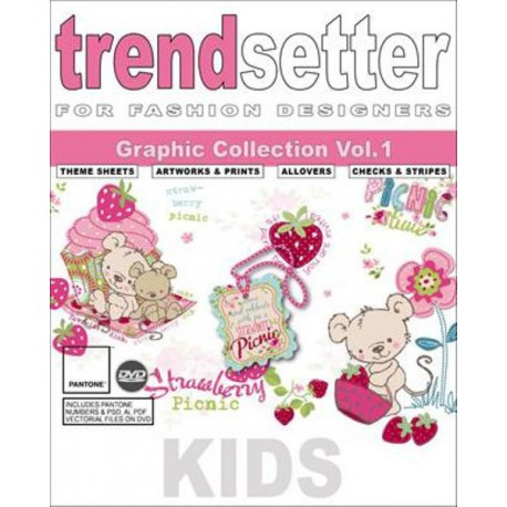 Trendsetter - Kids Graphic Collection Vol. 1 incl. DVD