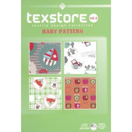 Texstore Vol. 6 Baby Pattern incl. CD-ROM