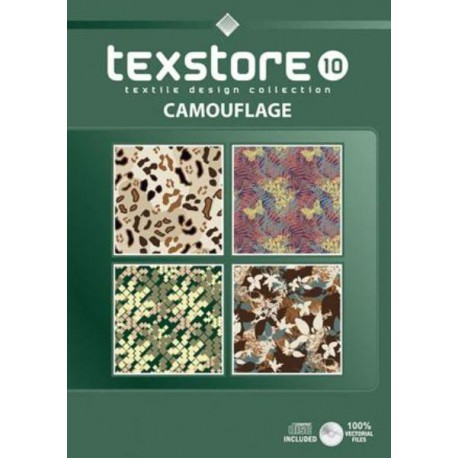 Texstore Vol. 10 Camouflage incl. CD-ROM Shop Online