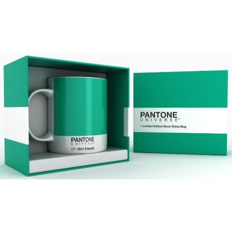 TAZZA PANTONE EMERALD 17-5641 - COLORE DELL'ANNO 2103