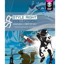 Style Right Collection Graphic & Print Kit Vol. 1 Miglior Prezzo