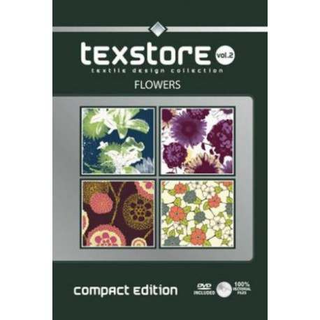 Texstore Vol. 2 (compact edition) Flowers incl. DVD