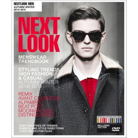 Next Look Menswear A/W 14/15 Fashion Trends Styling incl. CD-ROM