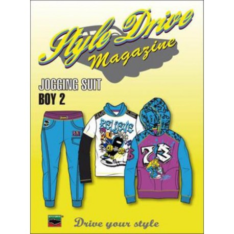 Style Drive Magazine Jogging Suit no. 2 - Boy incl. CD-ROM Shop