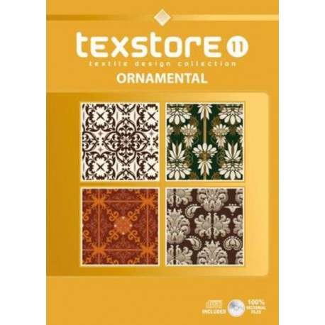 Texstore Vol. 11 Ornamental incl. CD-ROM