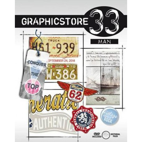 Graphicstore - Man 33 incl. DVD
