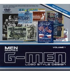 G-Men Logo Style Design Vol. 1 incl. DVD Miglior Prezzo