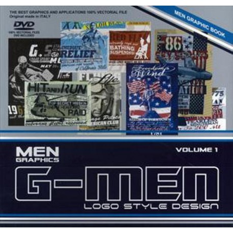 G-Men Logo Style Design Vol. 1 incl. DVD