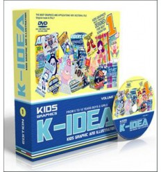 K-Idea Kids Graphic and Illustration Vol. 1 Miglior Prezzo
