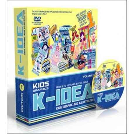 K-Idea Kids Graphic and Illustration Vol. 1 Shop Online