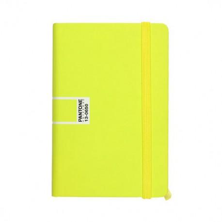 Pantone Universe Taccuino A6 giallo