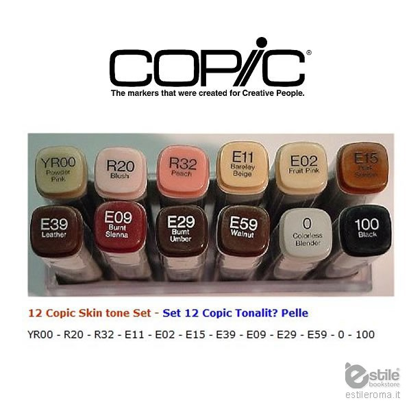 Copic Marker Set 12 Markers Shop Online 97 50
