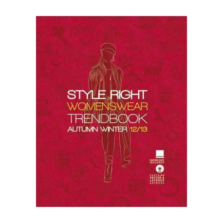 STYLE RIGHT WOMEN'S TREND BOOK A-W 2012-13 INCL DVD
