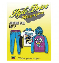 STYLE DRIVE MAGAZINE JOGGING SUIT 02 - BOY INCL. CD ROM